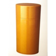 Lacquer Tea Caddy 200g - Yellow